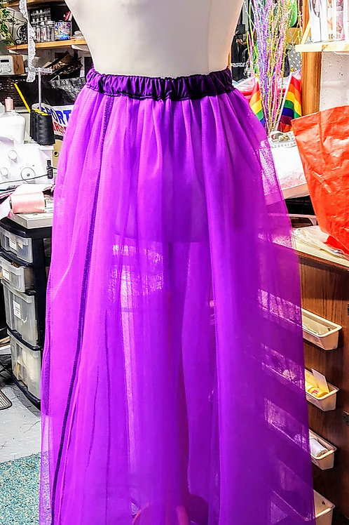Full Length Net Skirt (4 Layers)