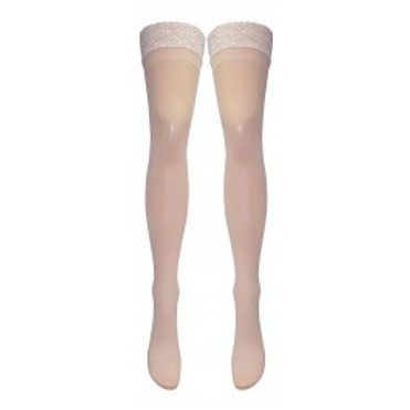 Vintage Nylon Lace Top Hold Ups