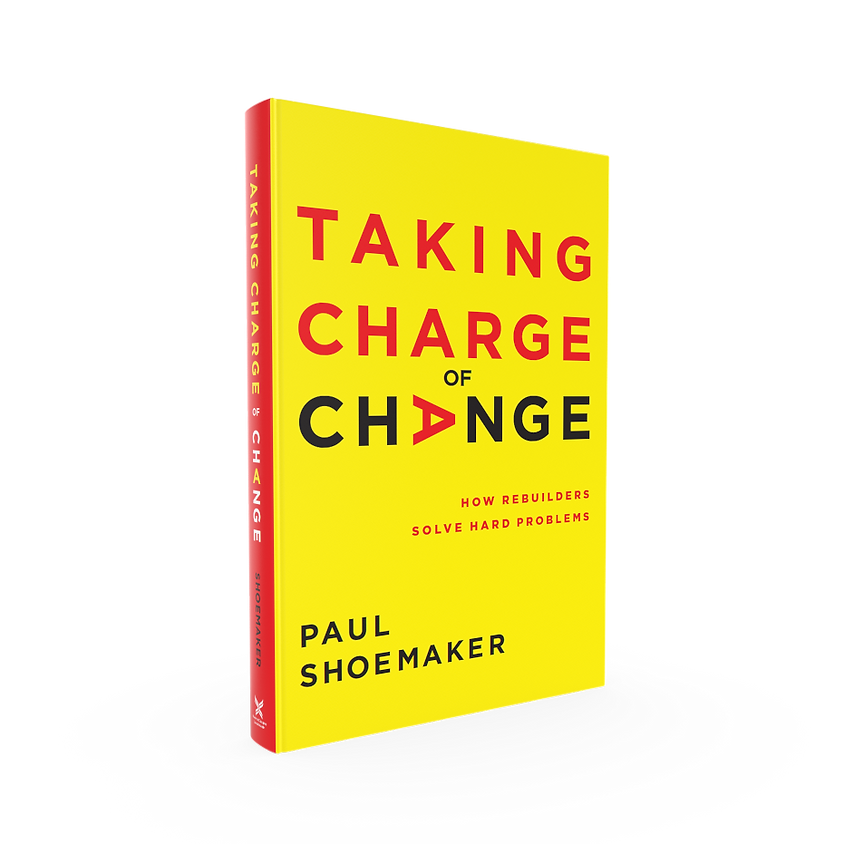 Book Discussion: Taking Charge of Change