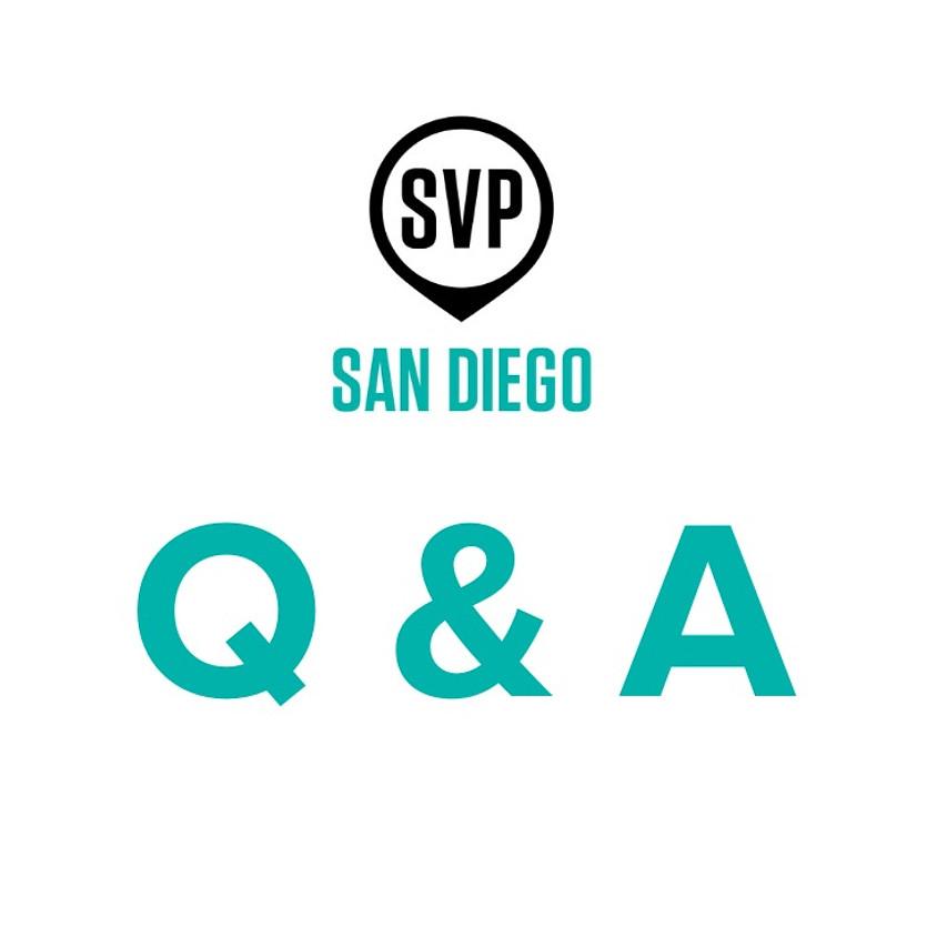 SVP Strategy Q&A