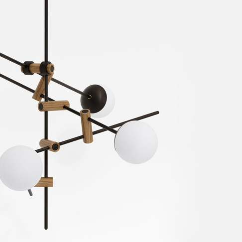 Lamp Collections by Tomasz Kudelski & Kaito Yamada for Moon Month