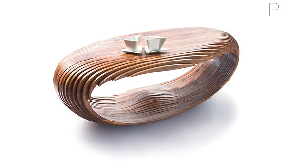Coffee Bean Table By Javier Olmeda For Constructo