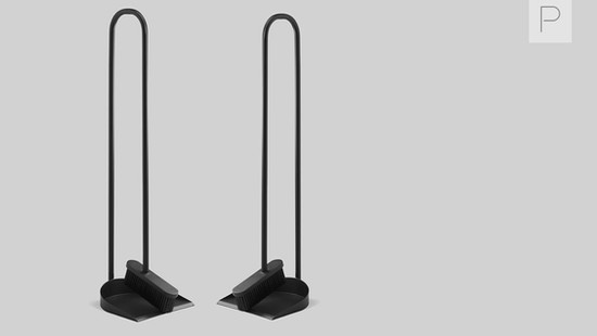 Cane Broom Set by Gridy for Northern