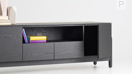 Ash Collection TV Table by Pavel Vetrov for Zegen