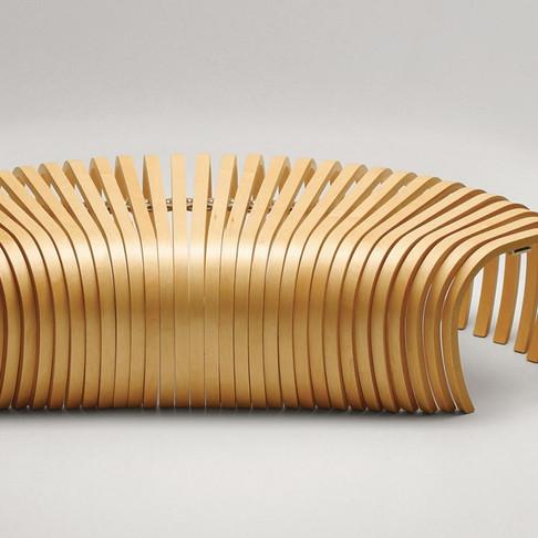 Ribs Bench by Stefan Lie for DesignByThem
