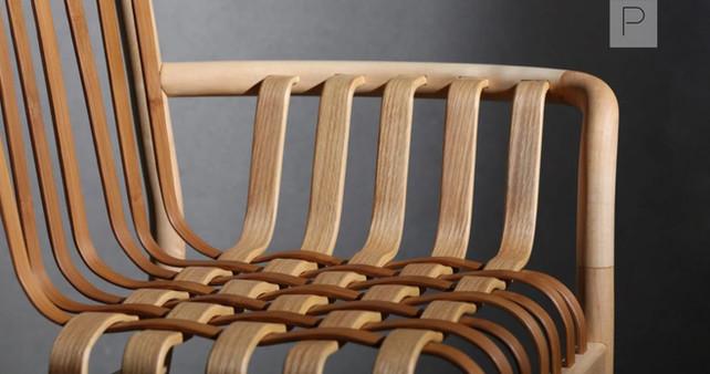 Lattice Chair by Neo-Taiwanese Craftsmanship