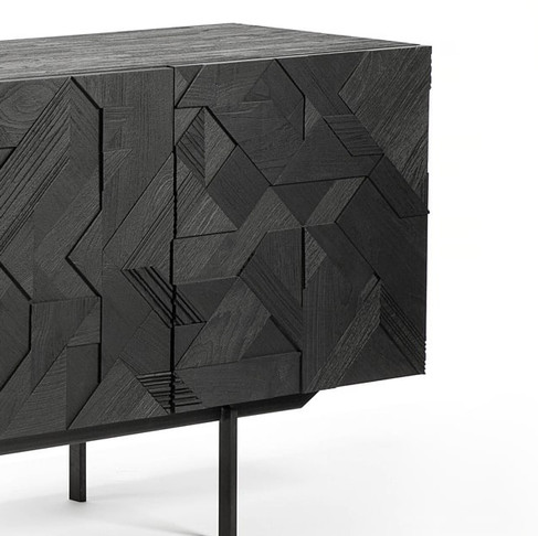 Graphic Sideboards by Alain van Havre for Ethnicraft