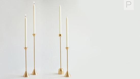 Spindle Candleholder by Fort Standard