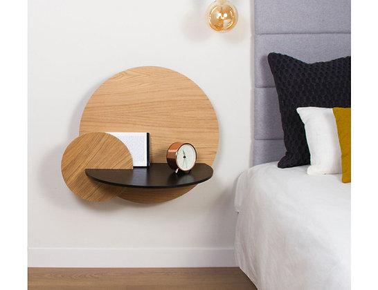 Large Alba Bedside Shelf & Table by Woodendot