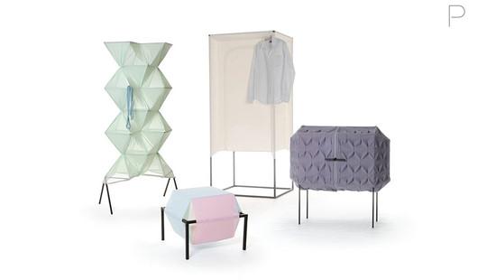 Textile Storage by Meike Harde