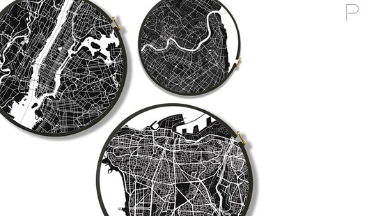 Figure Ground Cities by Marzieh Birjandian for Ateliers STMB