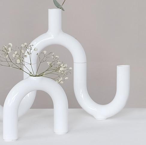 Vase Ensemble by Kyra Heilig