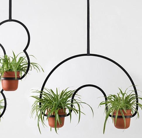 Kuiper Belt Hanging Pots by Katerina Kopytina for Glyph