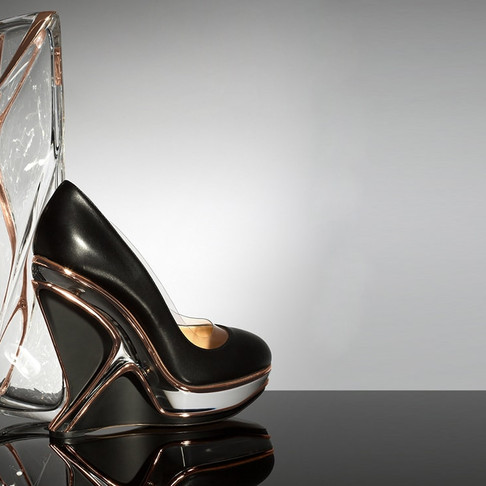 Limited Edition Pieces by Zaha Hadid Design for Charlotte Olympia