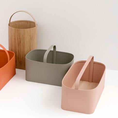 Baskets by Studio Gorm for Furnishing Utopia