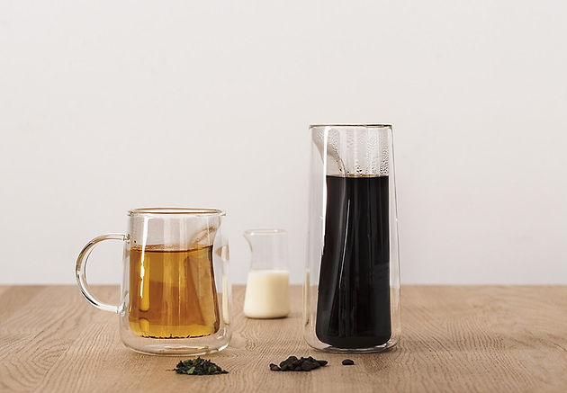 Tea and Coffee Container by Jenkins & Uhnger for Wallpaper