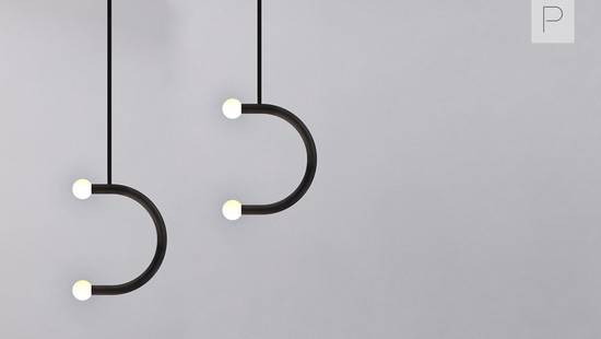 Single & Double Pendant C Lights by Bower Studios