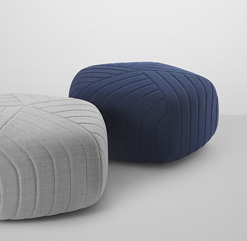 Five Poufs by Anderssen & Voll for Muuto