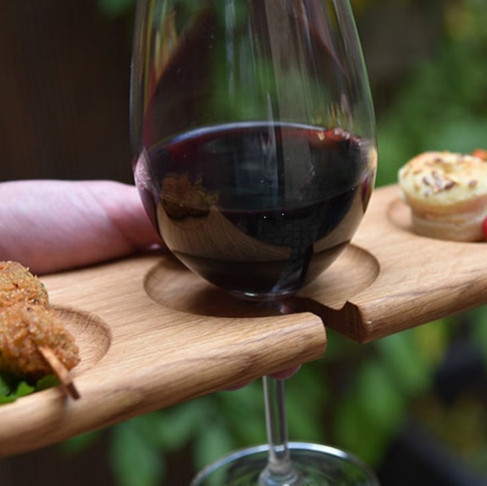 Cru Wine Glass Holder Board by Bruno Lefebvre for LE RÉGAL