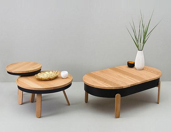 Batea Table Collection by Daniel Garcia Sanchez for Woodendot