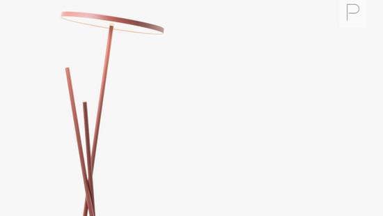 Belcarra Floor Light by Knauf and Brown