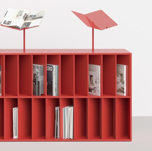 Red Bibliotheque by Dmitry Samygin