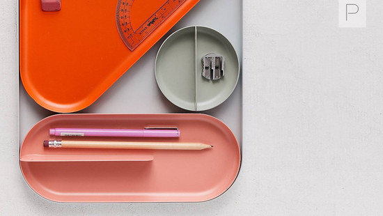 Shaped Desk Tray Organizer by Jakob Lukosch for Urban Outfitters