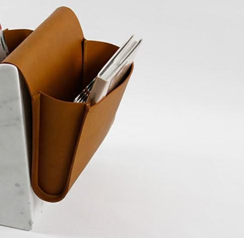Saddle Magazine Rack by Noble & Wood