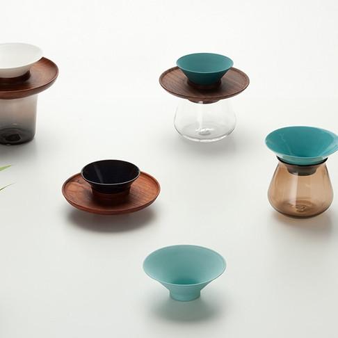 Ceramic, Wood & Glass by Bkid