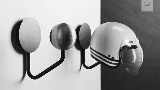 Helmet Rack by Halley Accessories