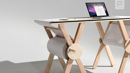 The Analog Memory Desk by Kirsten Camara