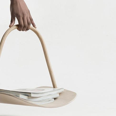 Basket by Benjamin Hubert for fritz Hansen