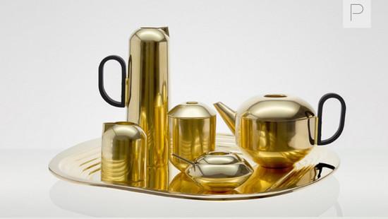 Form Tea Set by Tom Dixon