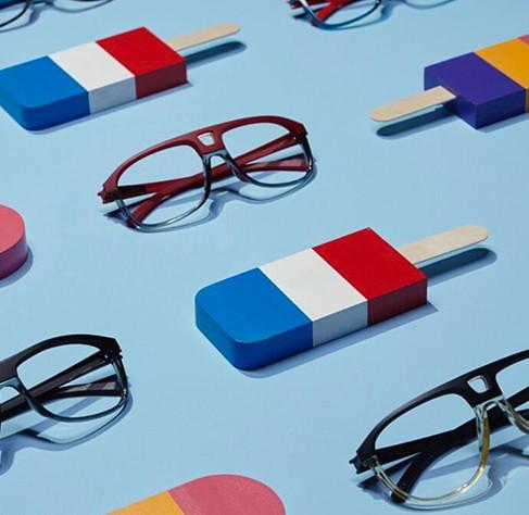 Nogs Glasses by Laurent Albouy