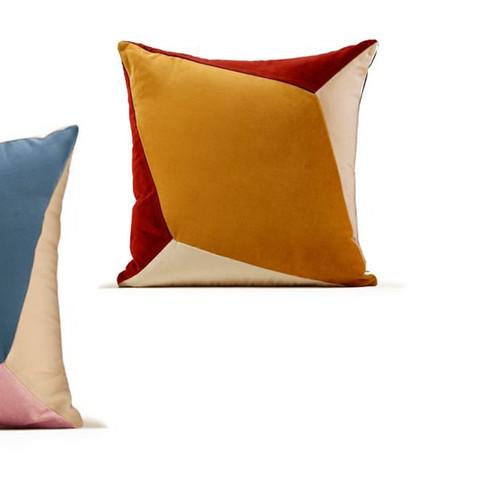Quartz I & II Velvet Cushions by Maria Figueiredo for My Friend Paco