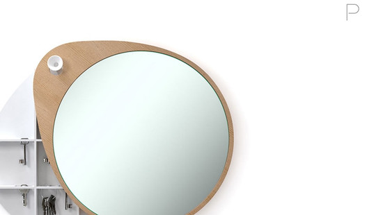 Mirror 'The Egg' by Studio Teun Fleskens