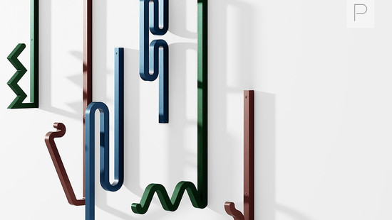 Zag Hooks by Bling Studio for La Chance