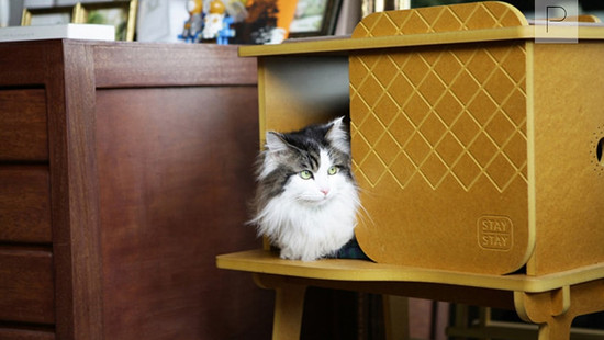 Frank Cat House by Studio Monocomplex for Staystay