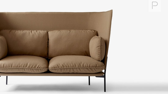Cloud High Back Sofa by Luca Nichetto for &Tradition