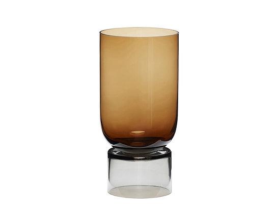 Amber Vase by Hubsch