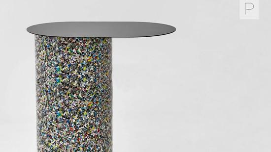 Confetti Cantilever Side Table by Nicholas Karlovasitis & Sarah Gibson for DesignByThem