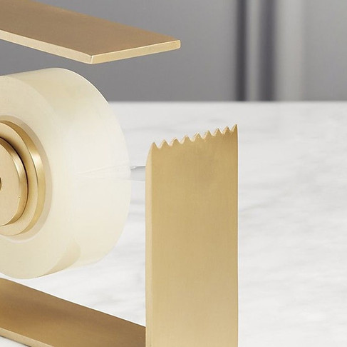 Solid Brass Tape Dispensers Fred Segal for CB2