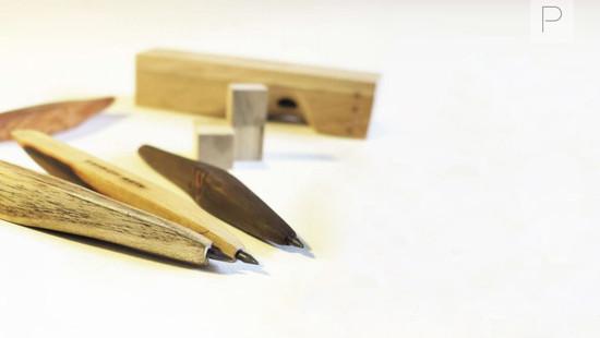Wooden Pencils by Ramz Studio