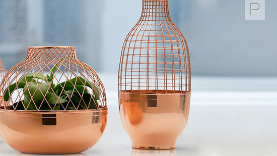 Grid Vases by Jaime Hayon Studio For Gaia & Gino