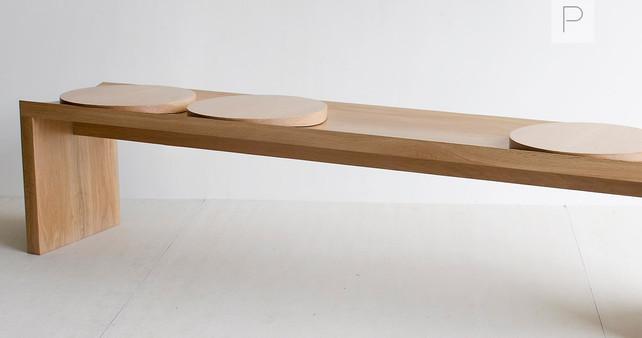 Arc Bench by Sabu Studio