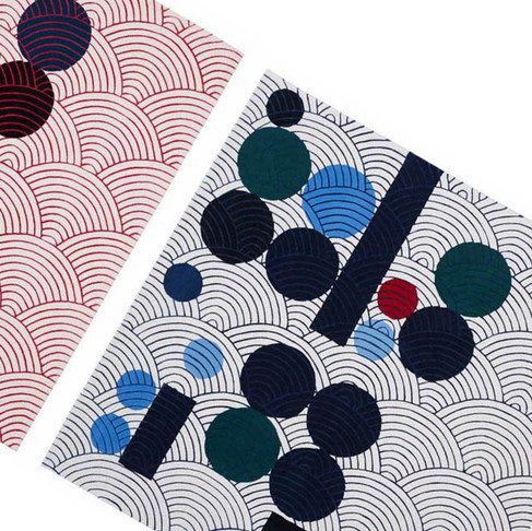 Japanese Abstractions Rugs Collection I by Maison Dada