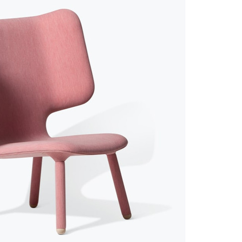 Tembo Lounge Chair by Noergaard Kechayas for New Works