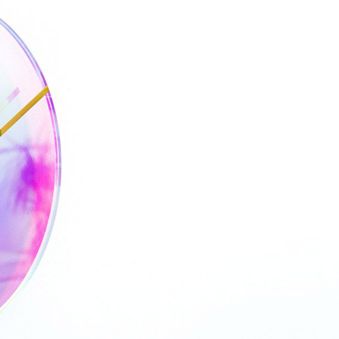 Chameleon Series Clock by Wisse Trooster for qoowl
