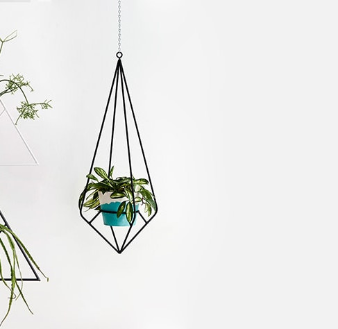 Plant Stands and Hangers by Capra Designs