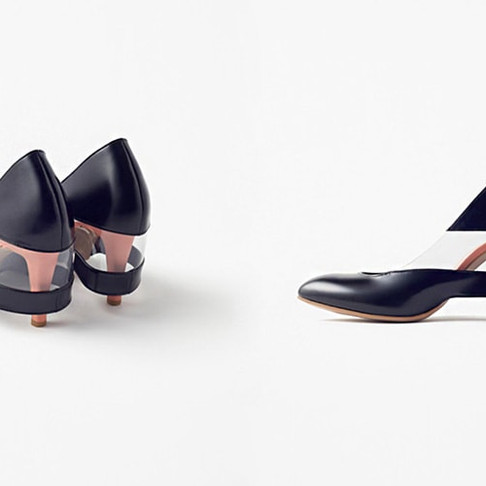 Skirt Shoes by Nendo for Seibu Department Store